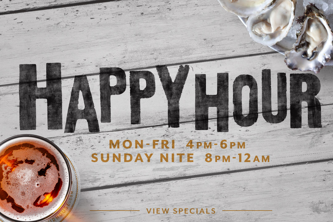 Happy Hour : M-F 4-6p, Sunday Nite 8p-12a