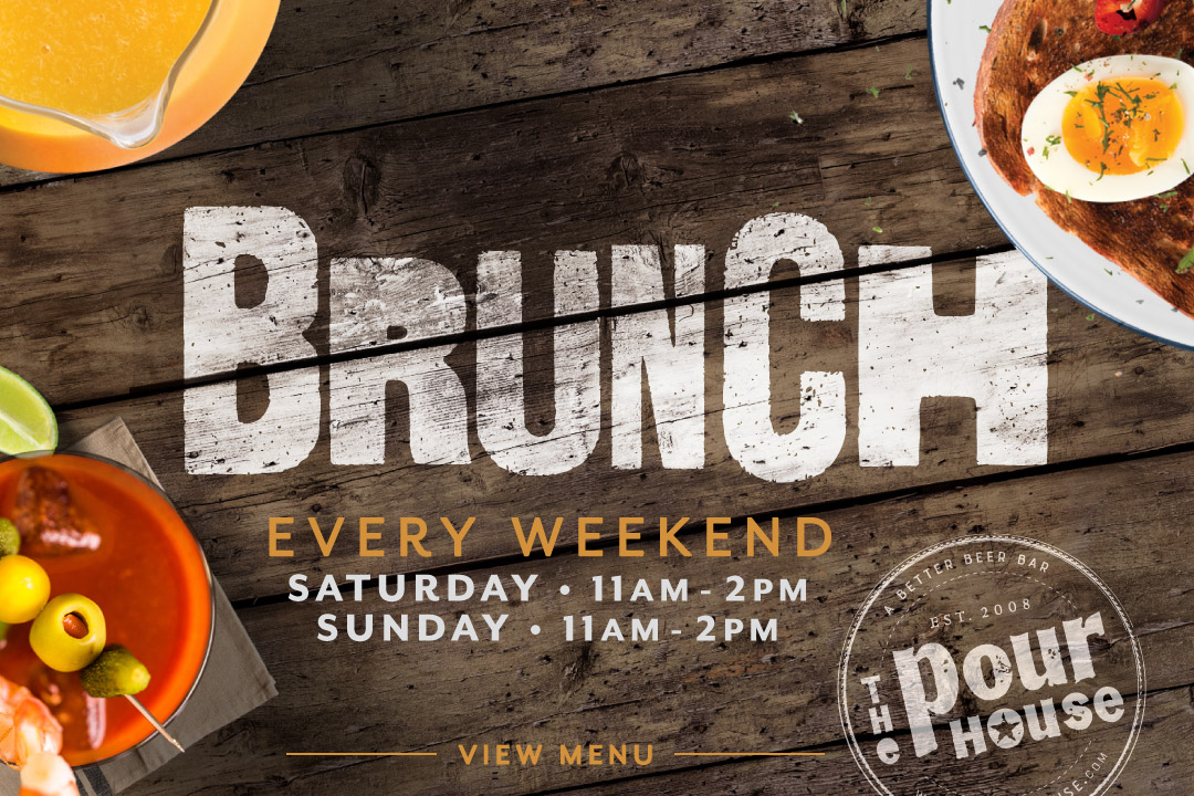 Brunch, SAT 11am-2pm, SUN 11am-2pm